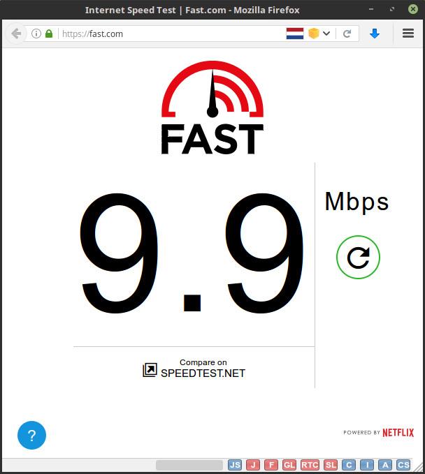 du willst deine Internetgeschwindigkeit testen? - verwende fast.com!
