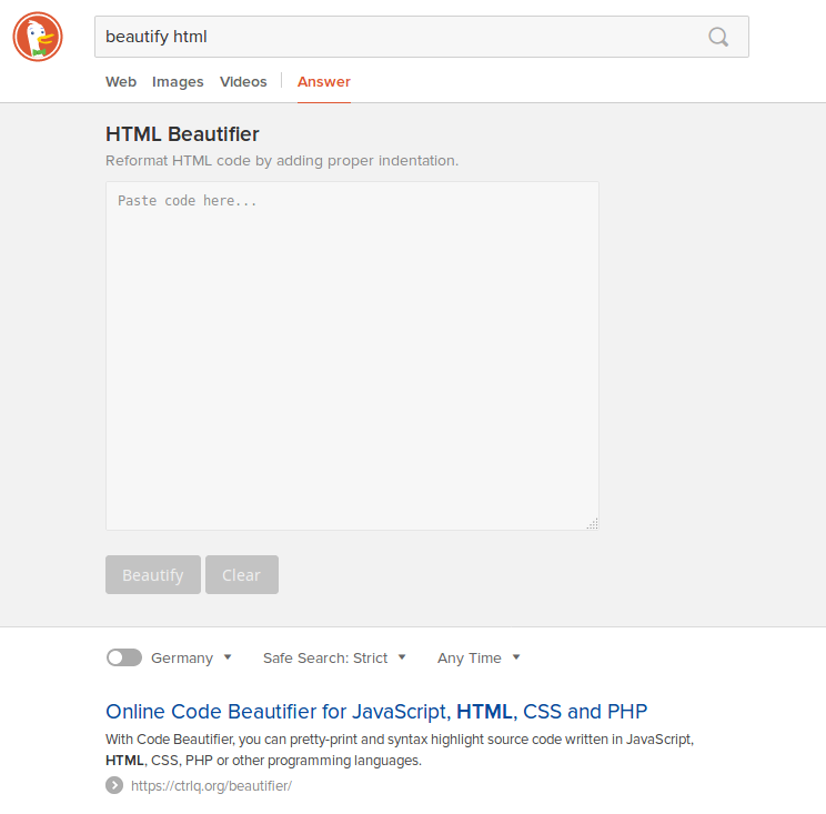DuckDuckGo - the search engine better than Google